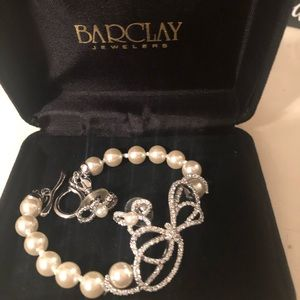 Barclay earrings and bracelet